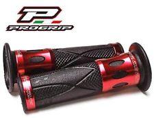 Progrip Poignées De Guidon rouge/aluminium Honda NSR 125 NSR125 NSR 50 NSR50 NSR