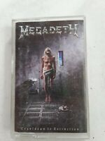 Megadeth Countdown To Extinction Cassette Tape 1992  Capitol/EMI Records