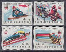 Österreich Austria 1975 ** Mi.1479/82 Olympische Spiele Winter Olympic Games