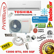 12000 BTU Air Conditioner Mini Split 17 SEER INVERTER AC Ductless Only Cold 220V
