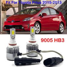 For 2013 2014 2015 Toyota Prius 72W LED Headlight Bulbs 9005 HB3 High Beam Lamps