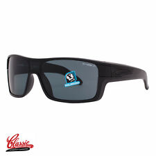 ARNETTE SHORE HOUSE POLARIZED Sunglasses 4186 41/81 Gloss Black Frame Grey BNIB
