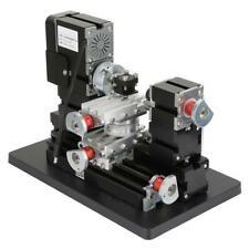 60W 5A High precision Mini Metal Rotating Lathe 12000RPM Motor New