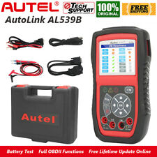 2020 Autel AL539B Automotive Diagnostic OBD2 Code Reader Battery Circuit Tester