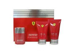 Ferrari Passion Cologne 1.7 oz EDT Spray + 5.0 oz Shower Gel +3.3 oz A/S Balm