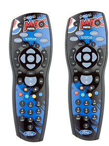 2 x GENUINE FOXTEL V8 Remote FPR PEPSI CREW for iQ1 iQ2 iQ3 MyStar MyStar2 NDS