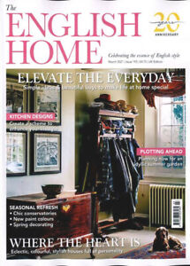 THE ENGLISH HOME MAGAZINE MARCH 2021 ~ NEW ~
