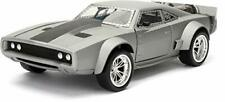 Jada Toys Fast & Furious 8 Doms Ice Charger Diecast Collectible Toy Vehicle/C...