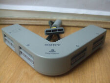 OFFICIAL SONY MULTI TAP PLAYSTATION ONE PS1 GENUINE GREY 4 WAY ADAPTOR SCPH-1070