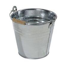Secchio in Zinco manico legno 10 lt lamiera metallo pozzo acqua Axel