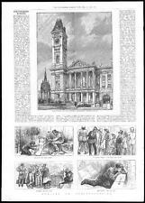 1885 MUSEUM & ART GALLERY Birmingham / Electioneering Politics Sketches (223)