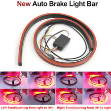1M Universal LED Car Roofline Brake Light Strip Rear Windshield Lamp Switchback