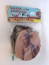 Old West War Drum Feather Western Outfit Party Halloween Costume Accessory Prop