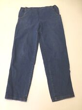 Levis Jeans Womens Size 10 Adjustable Waist Maternity Blue Jeans Good Condition