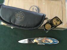 Franklin Mint Harley Davidson Electra Glide Pocket Knife with Box and Case
