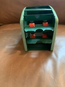 Vintage Metal ~ ARRCO Playing Card Shuffler ~ Hand Operated