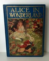 ALICE IN WONDERLAND Milo Winter 1926 Antique Edition 12 Color Plates