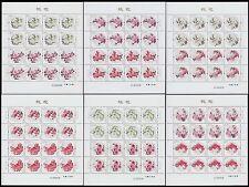 China Stamp 2013-6 Peach blossom Flowers Full Sheet MNH