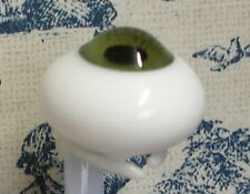 Popular size 8mm Glass Paperweight Doll Eyes, 8mm Green, small glass doll eyes