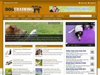 Dog Training / Puppy Behavior Niche Wordpress Blog Website For Sale!