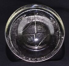 Vintage Rolex Ashtray - Round Glass Promotional Ash Tray