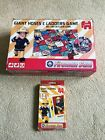 2x Fireman Sam games Giant Hoses & Ladders (like snakes) & Giant Playing Cards