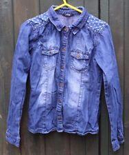 Girls George Denim Age 12-13 yrs Colour: Blue