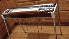 Msa-1 neck 12 string Pedal Steel Guitar-Built On A Double neck frame-with case