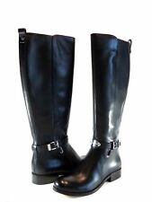 Michael Kors Arley Riding Boot Black Leather Tall Knee High Size 5.5