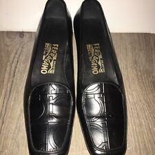 New listing Vintage Salvatore Ferragamo Womens Leather Shoes Size 7.5 See Description