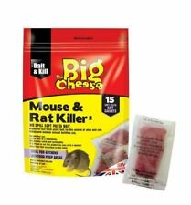 The Big Cheese Mouse & Rat Killer Pasta Sachets - 15 Pack