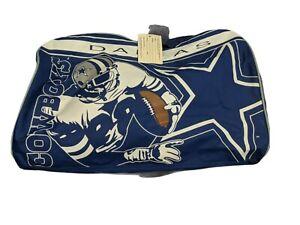 Dallas Cowboys Dufflebag Michael Irving Blue NFL Luggage Gym Bag Vintage w/ tags