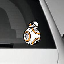 BB8 - STAR WARS VINYL ADHESIVE CAR DECAL STICKER