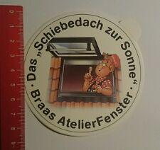 Aufkleber/Sticker: Braas Atelier Fenster Schiebedach zur Sonne (08091675)