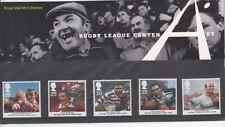 GB 1995 liga de rugby presentación Pack 261 SG 1891-1895 conjunto de sello de menta