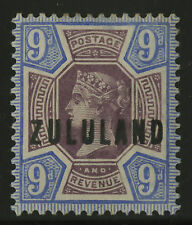 Zululand   1888-93    Scott # 9   Mint Lightly Hinged