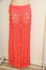 NWT Kenneth Cole Swimsuit Cover Up Pants Size L GRF