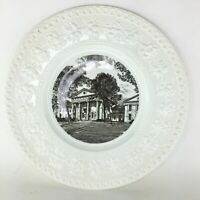 1955 1st Edition Wedgwood Decorative Plate 'Old State House,' Little Rock, AR
