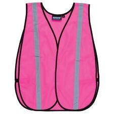 ERB Pink Safety Vest with Reflective Stripes