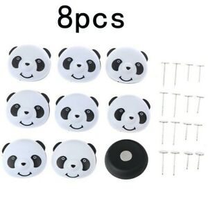 Panda Buckle High-quality Materials Holder Plastic 4.5×4cm/1.77×1.57in