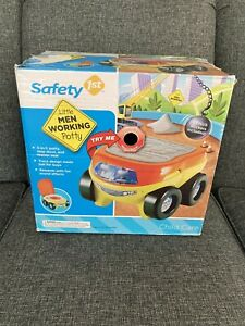 Safety 1st Little Men Working Potty Seat 3-in-1 Step Stool Truck
