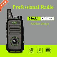 New WLN KD-C1plus mini Walkie Talkie 400-470MHz 16CH UHF transceiver KDC1PLUS