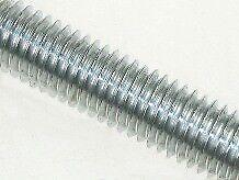 M16 x 1 metre Studding Mild Steel BZP - Bundle of 5
