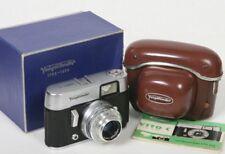 Voigtlander Vito C camera w/ Lanthar 50mm lens in original box 1956 anniversary