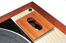 Caricalo Board base for SME 3009 Suit THORENS td-166 MKI MK II Mahogani Solid Wood