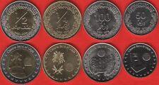 Libya set of 4 coins: 50 dirhams - 1/2 dinar 2014 UNC