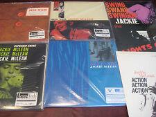 JACKIE MCLEAN AUDIOPHILE 45 SPEED 5 TITLES 10 SIDES LP SET + BONUS 33 & 1/3 LPS