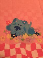 Blues Clues Pink Twin Size FLAT Sheet Only Girls, Fabric, Crafts