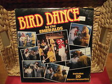 EMERALDS, THE > BIRD DANCE !!! > MINT FACTORY SEALED > 1982 Vinyl LP KTEL NC 547