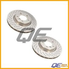 Set of 2 Front Left + Right BMW E36 M3 Brake Discs Zimmerman CoatZ X-Drilled